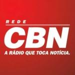 Logo da emissora Rádio CBN Santos 99.7 FM