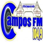 Logo da emissora Rádio Campos 104.9 FM