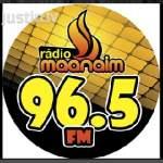 Logo da emissora R�dio Maanaim 107.5 FM