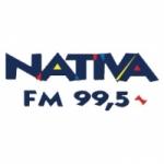 Logo da emissora Radio Nativa 99.5 FM