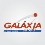 Logo da emissora Radio Galáxia 99.5 FM