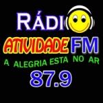 Logo da emissora Radio Atividade 87.9 FM