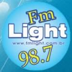 Logo da emissora Radio FM Light 98.7 FM