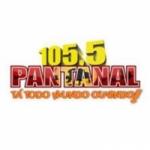 Logo da emissora R�dio Pantanal 105.5 FM
