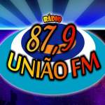 Logo da emissora R�dio Uni�o 87.9 FM