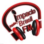 Logo da emissora Radio Impacto Brasil FM