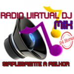 Logo da emissora Rádio Virtual Dj Mix