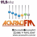 Logo da emissora Radio Acaraú 91.5 FM