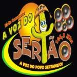 Logo da emissora Radio Voz do Sertão 104.9 FM