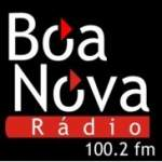 Logo da emissora Rádio Boa Nova 100.2 FM