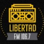 Logo da emissora Radio Libertad 106.7 FM