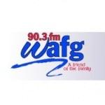 Logo da emissora Radio WAFG 90.3 FM