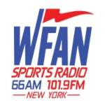 Logo da emissora WFAN 660 AM