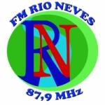 Logo da emissora Radio Rio Neves 87.9 FM