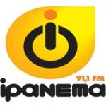 Logo da emissora Rádio Ipanema 91.1 FM