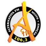 Logo da emissora Radio Alternativa 106.3 FM