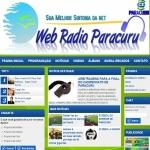 Logo da emissora Web R�dio Paracuru