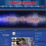 Logo da emissora Rádio Explendor