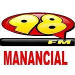 Logo da emissora Radio Manancial 98.5 FM