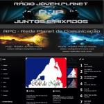 Logo da emissora R�dio Jovem Planet