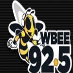 Logo da emissora WBEE 92.5 FM