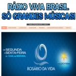 Logo da emissora Rádio Viva Brasil