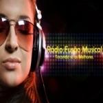 Logo da emissora Rádio Fusão Musical