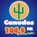 Logo da emissora Rádio Canudos 104.9 FM