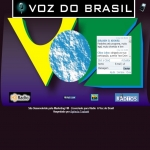 Logo da emissora Rádio Voz do Brasil