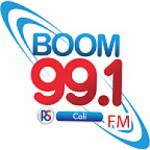 Logo da emissora Radio Boom 99.1 FM