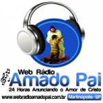 Logo da emissora Web R�dio Amado Pai