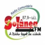 Logo da emissora R�dio Sol�nea 87.9 FM