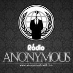 Logo da emissora Rádio Anonymous Brasil