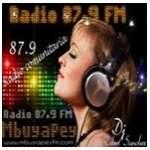 Logo da emissora Radio Mbuyapey 87.9 FM
