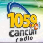 Logo da emissora Cancún Radio FM 105.9