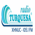 Logo da emissora Radio Super Turquesa FM 105.1