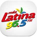 Logo da emissora Radio Más Latina 96.5 FM