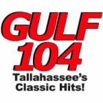 Logo da emissora Radio WGLF 104.1 FM