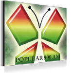 Logo da emissora Radio Popular 900 AM
