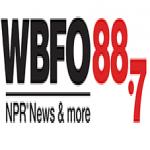 Logo da emissora WBFO 88.7 FM