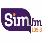 Logo da emissora Rádio SIM 105.3 FM
