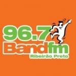 Logo da emissora Radio Band FM 96.7