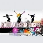 Logo da emissora Rádio Alegria Gospel FM