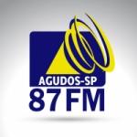 Logo da emissora 87 FM AGUDOS