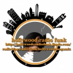 Logo da emissora Radio Funk Hollywood Megamix