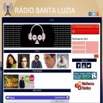 Logo da emissora R�dio Santa Luzia