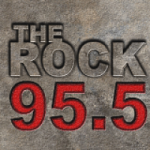 Logo da emissora Radio KVOB The Rock 95.5 FM
