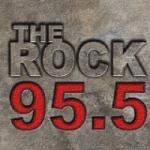 Logo da emissora Radio KVOB The Rock 95.5 FM