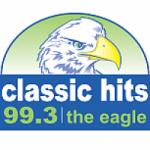 Logo da emissora Radio KWIC The Eagle 99.3 FM
