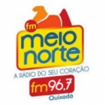 Logo da emissora Radio Meio Norte Quixadá 96.7 FM